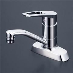KVK 洗面用シングルレバー式混合栓 【KM7004T】吐水口回転式シングルレバー混合栓【KM7004T】[新品]【NP後払いOK】