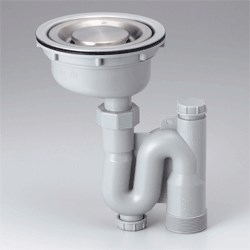 KVK ステンレストラップセット 【ZY50】流し排水栓【ZY50】[新品]【NP後払いOK】