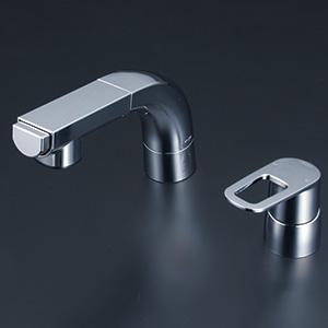 KVK 【FSL120DET】 シングルレバー式洗髪シャワー(eレバー) 洗面用水栓 > 台付洗髪シングルレバー [新品]【NP後払いOK】