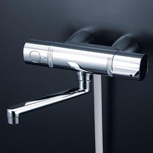 KVK 【FTB100KKST】 サーモスタット式シャワー・スカートソケット仕様(170mmパイプ付) 浴室用水栓 > 壁付サーモスタット [新品]【NP後払いOK】