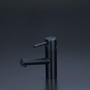 KVK 【KM7041M5】 洗面用シングルレバー混合栓 マットブラック 洗面用水栓 > 台付シングルレバー [新品]【NP後払いOK】