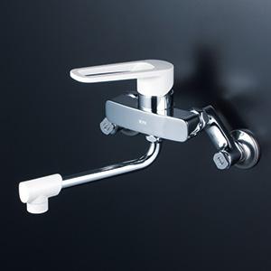KVK 【MSK110K】 シングルレバー式混合栓 キッチン用水栓 > 壁付シングルレバー [新品]【NP後払いOK】
