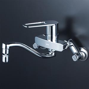 KVK 【MSK110KZRHUT】 シングルレバー式混合栓(首振り泡沫器付) 寒冷地対応 キッチン用水栓 > 壁付シングルレバー [新品]【NP後払いOK】