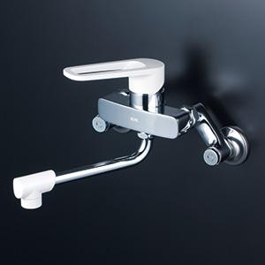 KVK 【MSK110KZ】 シングルレバー式混合栓 寒冷地対応 キッチン用水栓 > 壁付シングルレバー [新品]【NP後払いOK】