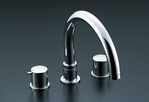 LIXIL リクシル 【BF-E090B-U】 シリーズ名: eモダン 品名: 2ハンドルバス水栓(固定コマ式)[新品]