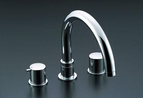LIXIL リクシル 【BF-E093B】 シリーズ名: eモダン 品名: 2ハンドルバス水栓[新品]