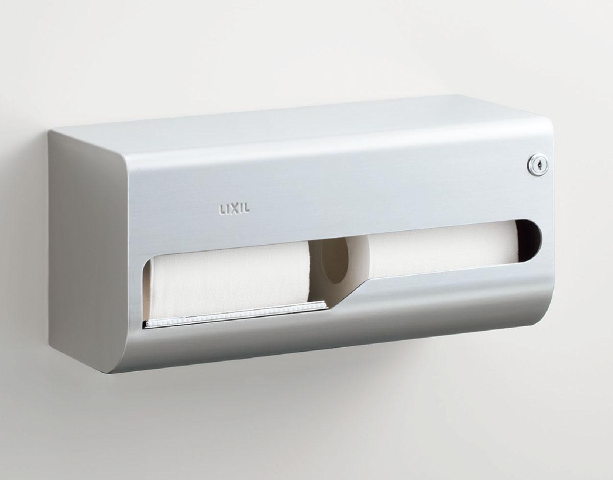 LIXIL リクシル 【KF-67T2L】 横2連ストック付紙巻器(左仕様)[新品]
