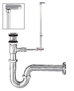 LIXIL リクシル 【LF-1351SA】 シリーズ名: シリーズ外 品名: ポップアップ式排水Sトラップ[新品]