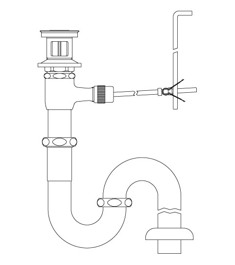 �リクシル ショッピング シリーズ外 ポップアップ式排水Sトラップ� LIXIL リクシル ポップアップ式排水Sトラップ 品名: 大好評です 新品 LF-270SAL シリーズ名: