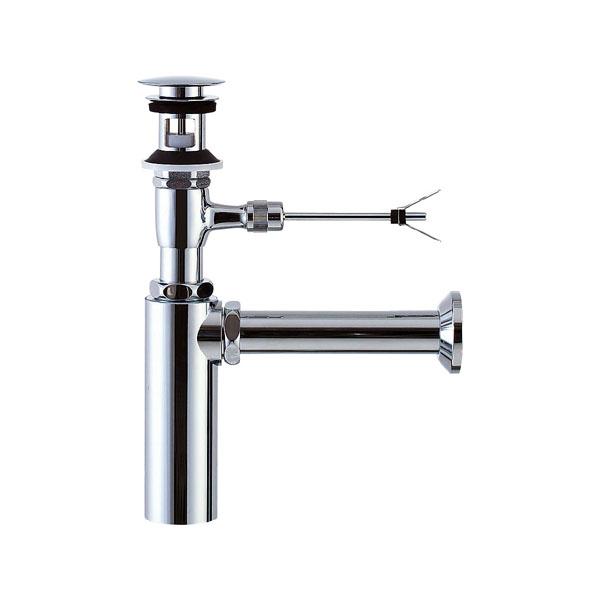 LIXIL リクシル 【LF-701PAC】 シリーズ名: シリーズ外 品名: ポップアップ式排水ボトルトラップ(排水口カバー付)[新品]