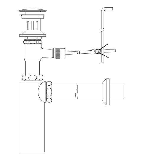 LIXIL リクシル 【LF-710PAC】 シリーズ名: シリーズ外 品名: ポップアップ式排水ボトルトラップ(排水口カバー付)[新品]