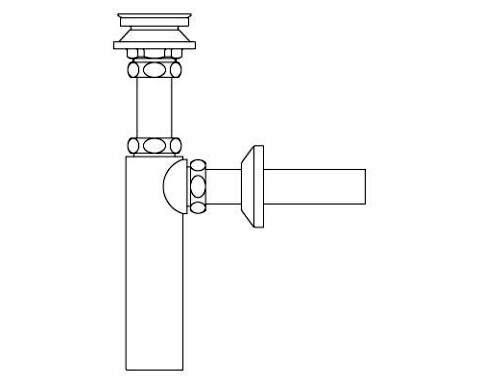 LIXIL リクシル 【LF-731PA】 シリーズ名: シリーズ外 品名: 排水ボトルトラップ[新品]