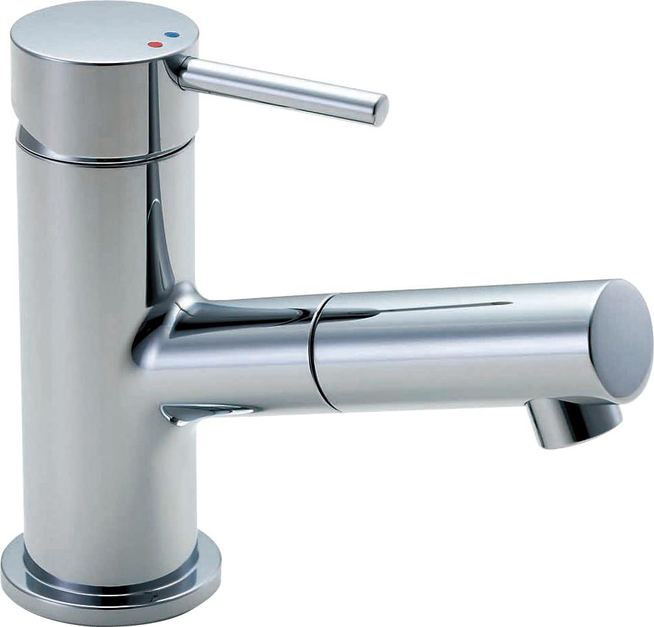 LIXIL リクシル 【LF-E345SCN-KD】 シリーズ名: シリーズ外 品名: 吐水口引出式シングルレバー混合水栓(泡沫式)(寒冷地)[新品]