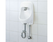 INAX LIXIL・リクシル 手洗器【YAWL-71UAP(S)】プッシュ式セルフストップ アクアセラミック(受注後3日) 壁給水床排水[新品]