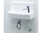 INAX LIXIL・リクシル 手洗器【YL-A74H2A】ハンドル水栓 同上水石けん入れ付タイプ アクアセラミック(受注後3日) 壁給水床排水[新品]