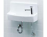 INAX LIXIL・リクシル 手洗器【YL-A74P2B】セルフストップ水栓 同上水石けん入れ付タイプ アクアセラミック(受注後3日) 床給水床排水[新品]