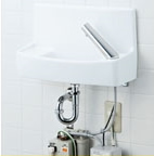 INAX LIXIL・リクシル 手洗器【YL-A74UWC】温水自動水栓(100V) アクアセラミック(受注後3日) 壁給水壁排水[新品]