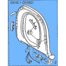 パナソニック Panasonic アラウーノ 取替便座 【CH10014727KY】(CH1001WS・CH1002WS用)[新品]