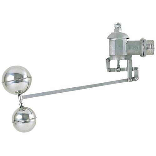 三栄水栓[SANEI] トイレ用品 ボールタップ 複式ステンレスボールタップ 【V425-50】[新品]