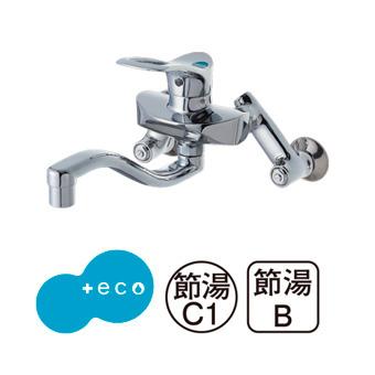 三栄水栓[SANEI]【K1712EA-3U-13】シングル混合栓[新品]