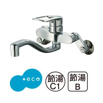 三栄水栓[SANEI]【K17CEA-13】シングル混合栓[新品]