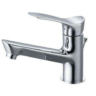 三栄水栓[SANEI]【K4712PJV-13】シングルワンホール洗面混合栓[新品]