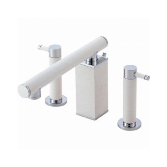 三栄水栓[SANEI]【K55300P-JD-13】ツーバルブ洗面混合栓[新品]