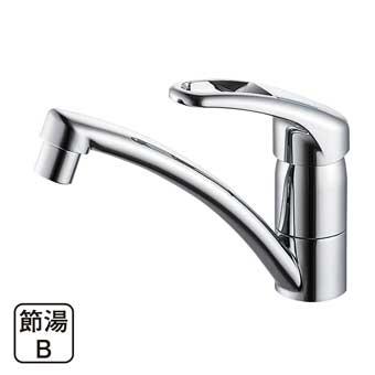 三栄水栓[SANEI]【K87610JK-S-13】シングルワンホール混合栓[新品]