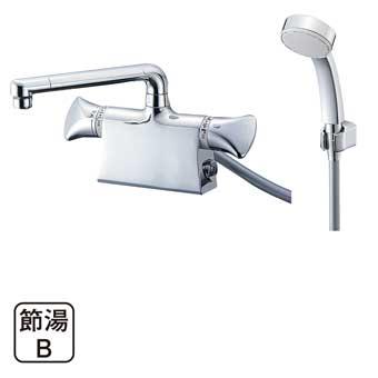 三栄水栓[SANEI]【SK78010DS9K-13】サーモデッキシャワー混合栓[新品]