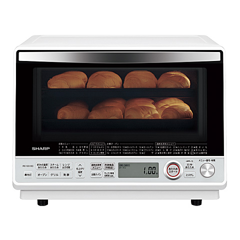 シャープ[SHARP] 過熱水蒸気オーブンレンジ<総庫内容量:31L(2段調理)> Wホワイト系【RE-SS10D-W】[新品]