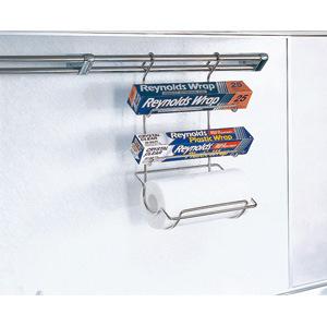 ナスラック ラップペーパーホルダー(アイレベルバー用) 【LB-102】  キッチン周辺部材>キッチン収納 【メーカー直送のみ・代引き不可・NP後払い不可】[新品]