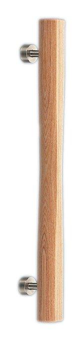 シロクマ 飛鳥取手 400mm 白木ウッド 【NO-97】【メーカー直送のみ・代引き不可・NP後払い不可】[新品]