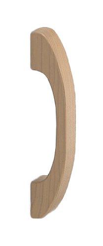 シロクマ 自然木弓形取手 500mm ライトオーク 【NO-311】【メーカー直送のみ・代引き不可・NP後払い不可】[新品]