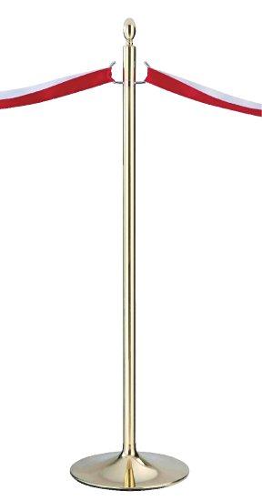 シロクマ テープカットポール 金 【FPP-2080】【メーカー直送のみ・代引き不可・NP後払い不可】[新品]