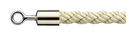 シロクマ パーティションロープ φ25×1800mm 金・ゴールド 【FPR-25R】[新品]