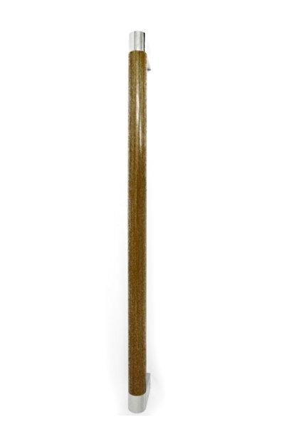 シロクマ シルエット手すり ナチュラルウッド/クローム 【BR-580】【メーカー直送のみ・代引き不可・NP後払い不可】[新品]