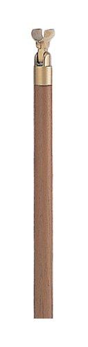 シロクマ 支柱U(埋込み式) チーク・AG 【ABR-701U】【メーカー直送のみ・代引き不可・NP後払い不可】[新品]