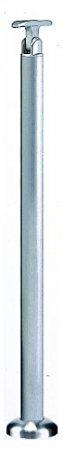シロクマ 支柱B(ベースプレート式) ヘアーライン 【ABR-704B】【メーカー直送のみ・代引き不可・NP後払い不可】[新品]