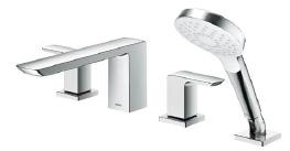 TOTO 浴室用水栓 台付2ハンドル混合水栓 一般地・寒冷地共用【TBG02202J】 [新品]