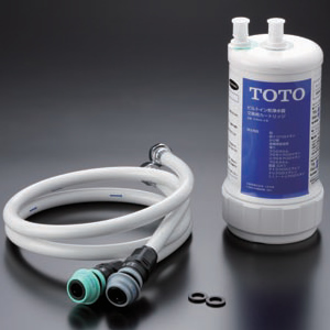 TOTO 水栓金具 キッチン用水栓金具【TK302B2】 浄水器専用自在水栓(ビルトイン形) 浄水器本体[新品]