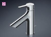 TOTO シングル混合水栓〈台付き2穴〉 GAシリーズ 台付シングル混合水栓【TLS01302Z】 [新品]