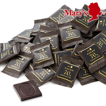 カカオ分70%のハイカカオチョコレートのお得な1kg商品 お礼 お祝いオンライン限定 メリーチョコレート カカオ70%チョコレート 1kg入 お菓子 大容量 お買い得 洋菓子 まとめ買い 日本限定 買い置き おやつ 奉呈