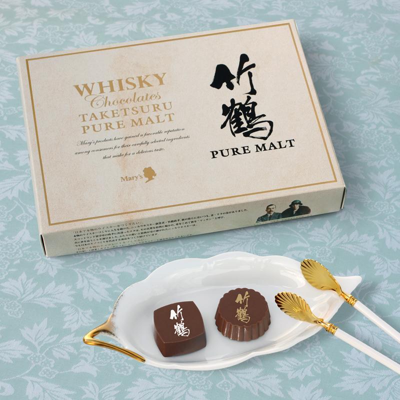 威士忌巧克力<竹鹤麦芽威士忌>12個入
