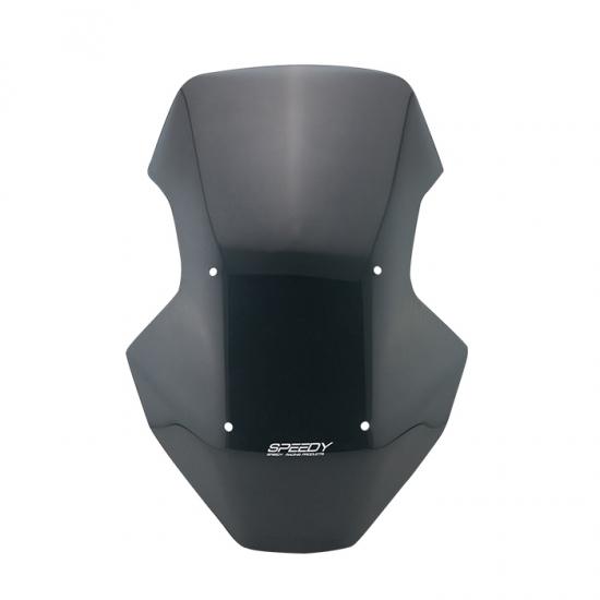 ホンダ ADV150 SPEEDY ウインドシールド ウインドスクリーン ブラック #1 4413259523008