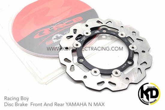 ヤマハ AEROX155 エアロックス155 レーシングボーイ 230mm フロントブレーキディスク 2色 4268-4269