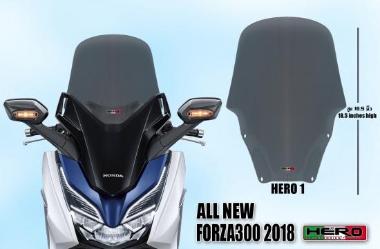 ホンダ フォルツァ MF13 HERO ウインドシールド ウインドスクリーン No.1 5090