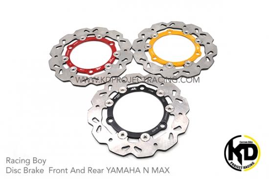 ヤマハ NMAX125 NMAX155 レーシングボーイ 230mm リヤブレーキディスク 3色 4230-4231-4232