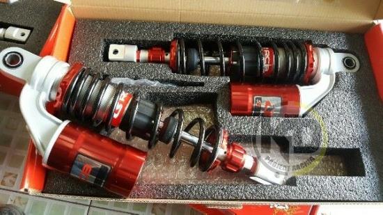 ヤマハ NMAX125 NMAX155 レーシングボーイ SBシリーズ リヤ サスペンション 3色 3701