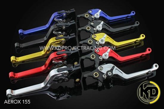 ヤマハ NVX125 GTR 6段調整 ブレーキレバー 左右セット 5色 4354-4219167370