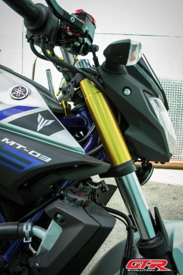 【国内在庫あり】ヤマハ MT-25 GTR フロントフォーク カバー 2色 4502-4209089365